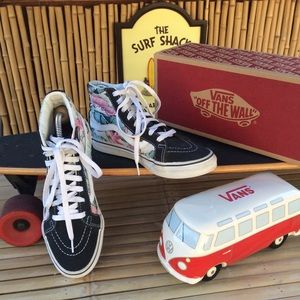 Vans Old Skool Sk8-Hi High Top Sneakers Size 6.5